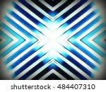 stainless chrome pattern  | Shutterstock . vector #484407310