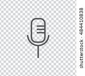 microphone icon vector  clip...