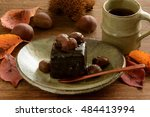 Chocolate Cake With Chestnuts...