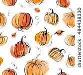 Artistic Seamless Halloween...