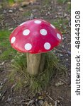 A Pretend Toad Stool In A...