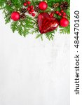 xmas or new year background ... | Shutterstock . vector #484470160