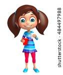 3d rendered illustration of kid ... | Shutterstock . vector #484497988
