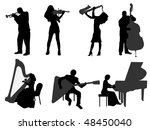 musician | Shutterstock .eps vector #48450040