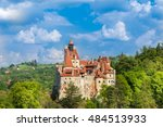 panoramic view over dracula... | Shutterstock . vector #484513933