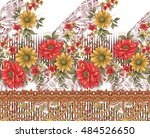 beautiful background design... | Shutterstock . vector #484526650