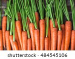 Carrots Colorful Overhead Close ...