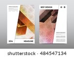 brochure layout template flyer... | Shutterstock .eps vector #484547134