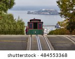 A View Of A Cable Car In San...