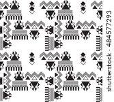 geometric seamless pattern.... | Shutterstock .eps vector #484577293