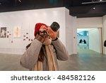 hong kong   january 29  2016 ... | Shutterstock . vector #484582126