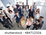successful adult business... | Shutterstock . vector #484712326