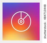 vinyl icon vector  clip art....