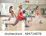 young female aerobic