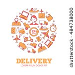 logo of logistics and delivery ...