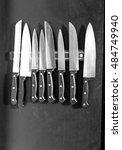 knife kit | Shutterstock . vector #484749940