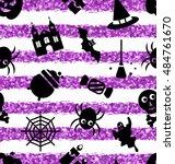 illustration seamless pattern... | Shutterstock .eps vector #484761670