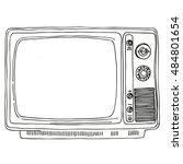 Tv Set   Retro Clipart...