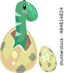 Dinosaur Illustration Of A...