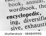 Small photo of Encyclopedic