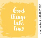 conceptual hand drawn phrase... | Shutterstock .eps vector #484859230