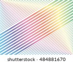 parallel diagonal slanting... | Shutterstock .eps vector #484881670