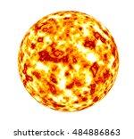 global warming sun   elements...   Shutterstock . vector #484886863