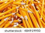 Many Pencils Piled In A Big...