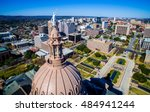the top of the texas state... | Shutterstock . vector #484941244