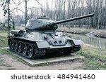 soviet medium tank t 34 85 of... | Shutterstock . vector #484941460