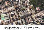 top view aerial photo from... | Shutterstock . vector #484954798