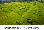 aerial photo from flying drone... | Shutterstock . vector #484956898