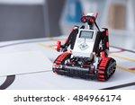 Small Hunan Like Robot Sited O...