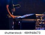 concert preparation   Shutterstock . vector #484968673