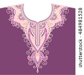 vector  contour  illustration ...   Shutterstock .eps vector #484981528