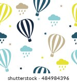 seamless vector pattern with...   Shutterstock .eps vector #484984396