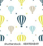 seamless vector pattern with... | Shutterstock .eps vector #484984849