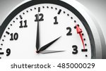 clock switch to winter time ... | Shutterstock . vector #485000029