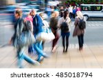picture with creative zoom... | Shutterstock . vector #485018794