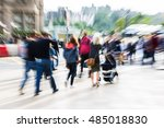 picture with creative zoom... | Shutterstock . vector #485018830