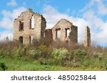 Landscape With Ruins Of Old...