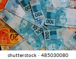 Brazilian Currency Notes Of...
