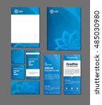 design templates set for... | Shutterstock .eps vector #485030980
