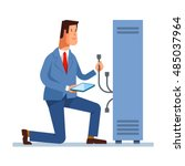 vector flat illustration of...   Shutterstock .eps vector #485037964