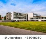 dessau  germany   june 13  2014 ... | Shutterstock . vector #485048350