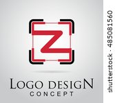 z letter logo in the square...