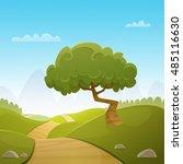 the cartoon illustration of the ... | Shutterstock .eps vector #485116630