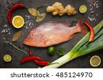 Fresh Ingredients To Cook Fish...