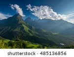 the summit beautiful landscape... | Shutterstock . vector #485136856