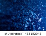 blue bokeh background | Shutterstock . vector #485152048